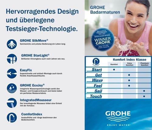GROHE Touch Einhand-Bidetbatterie 32556000