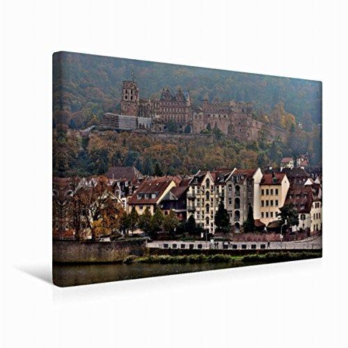 Calvendo Leinwand Heidelberger Schloss 45x30cm, Special-Edition Wandbild, Bild auf Keilrahmen, Fertigbild auf Hochwertigem Textil, Leinwanddruck, Kein Poster