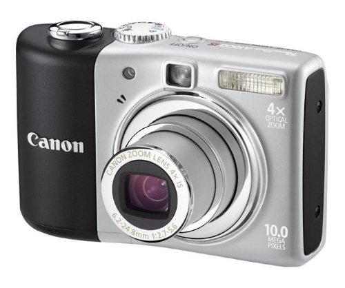 "Canon PowerShot A1000 IS Digitalkamera (10 Megapixel, 4-fach opt. Zoom, 2,5"" Display, Bildstabilisator) grau"