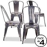chaise tolix. Black Bedroom Furniture Sets. Home Design Ideas