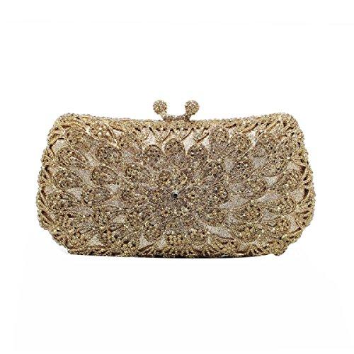 Damen Diamanten Abendtaschen Brautkleider Clutch Taschen Partytaschen C