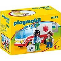 Playmobil 9122 1.2.3 Rescue Ambulance