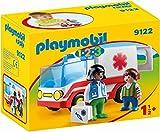 Playmobil 1.2.3 Ambulancia, única (9122)
