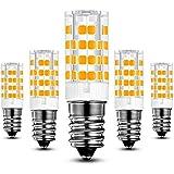 KINDEEP® Energy Saver Ampoule LED, Culot E14 - 5W / 400LM ( Equivalent 40W Ampoules halogènes/ Incandescente ) Blanc Chaud 3000K, 360° angle de faisceau, Pack de 5