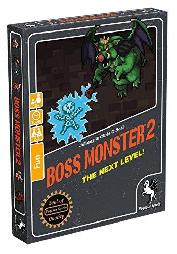 Pegasus Spiele 17561G - Boss Monster 2 The Next Level - S Monster-spiel