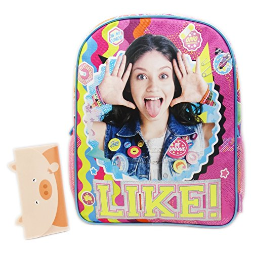 Disney Soy Luna Smile Mochilla Bolso Escolar por Niña Chica Asilo Lonchera