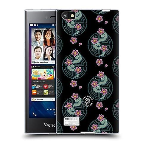 Offizielle Anne Stokes Kirschblüte Motif Muster Soft Gel Hülle für BlackBerry Leap