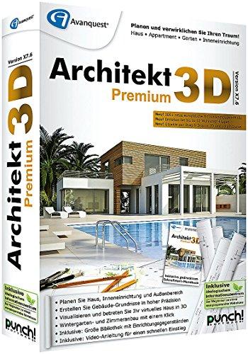 Architekt 3D X7.6 Premium - 3D Haus & Gartenplaner
