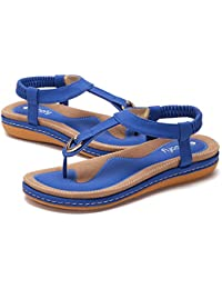 faad5a74fad Amazon.fr   talon bleu roi - Sandales   Chaussures femme ...