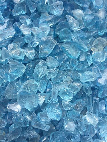 Glassplitt Ice blue 6-16mm im 14Kg Eimer (1 Eimer)