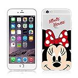 NEW motif Winnie l'ourson Disney Mickey Mouse & Daisy Coque souple en TPU Transparent Coque pour Iphone 6/6S & 6+/6+ .s, plastique, Motif Minnie Mouse, APPLE IPHONE 6+/6+.S