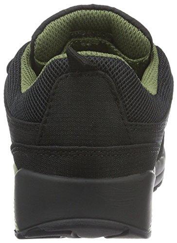 KangaROOS Kanga X 2000 V, Baskets Basses Mixte Enfant Schwarz (black/olive 582)