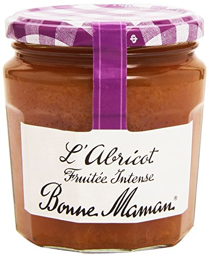 Bonne-Maman Confiture d'Arbricots Fruitée Intense 340 g - Lot de 3
