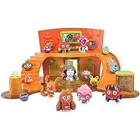 Moshi Monsters – QG Super Moshi – Habitat et Figurine Elder Furi (Import Royaume-Uni)