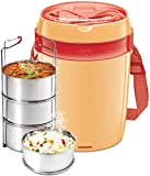 Milton Electric Tiffin-Futron 3 Container for reheat Lunch at Office in Winter