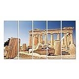 islandburner Bild Bilder auf Leinwand Akropolis Athen