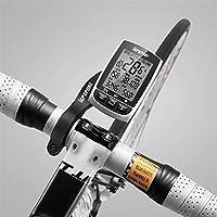KUANGQIANWEI Accesorios Bicicletas montaña Ciclismo Bluetooth 4.0 Ant + velocímetro de la Bici Digital de Ordenador sin Hilos de luz de Fondo Resistente al Agua IPX7 Cuenta km Bicicleta