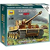 Zvezda 500786256 - 1: 100 german Heavy Tank Tiger I