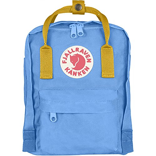 Fjällräven Unisex Rucksack Kånken Mini un blue warm yellow