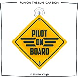 Pilot on Board | Car Sign | Car Signs for Professionals