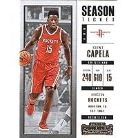 2017–18Dépasse Panini Season Ticket # 73Clint Capela Houston Rockets Basket carte