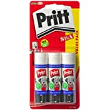 Pritt Glue Stick, 22 g - Pack of 3