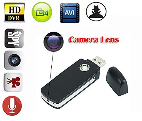 EPTEK @ 16GB TF Karte +Mini Portable Spion versteckte Kamera Nanny verdeckte USB-Flash-Laufwerk Kamera DVR Video Recorder Bewegung aktiviert DV Camcorder