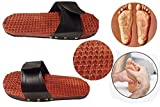 Regalo la tua sorella bella a Rakhi Occasion digitopressione pantofola massaggiatore piedi di legno