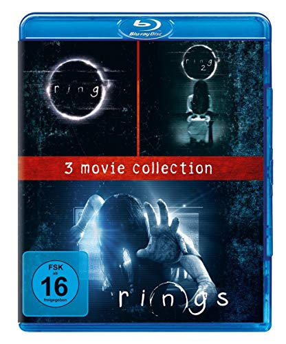 Rings - 3 Movie Collection [Blu-ray]