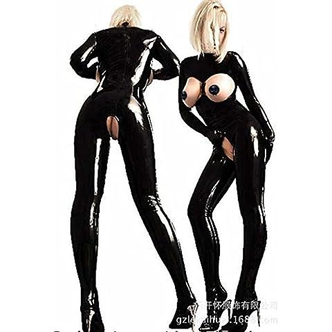 Euramerican pregiata pelle monopezzo nightclub stretto spettacolo fase sexy lingerie
