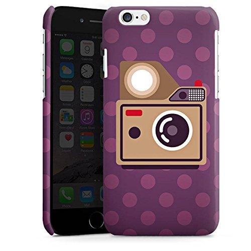 Apple iPhone 5s Housse Étui Protection Coque Photo Caméra Photographie Cas Premium brillant