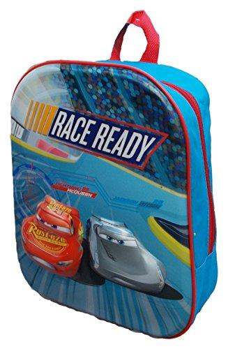Disney Cars Lightning McQueen , Kindergarten Backpack , Free Time Backpack , 3D Relief Print,32cm - Disney Cars Lightning McQueen Kinderrucksack , Rucksack, Kindergartenrucksack, Freizeitruck (Mcqueen 3d Lightning)
