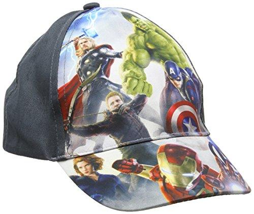 Hat Disney (Disney Jungen Kappe Avengers, Grey (D Grey), Einheitsgröße (Hersteller Größe:54))