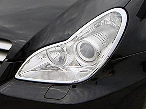 Mercedes W219 C219 CLS Chrome Phare Frontale bordure
