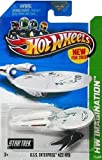 2013 Hot Wheels Hw Imagination Star Trek - U.S.S. Enterprise NCC-1701 Battle Damaged - New! by Mattel