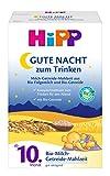 HiPP Gute-Nacht, pappa con latte ai cereali biologica, confezione da 4x 500g (versione tedesca)