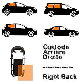 Renault - Custode Verte - Arrière Droite - Côté Passager Pour La Renault Clio 3 05-