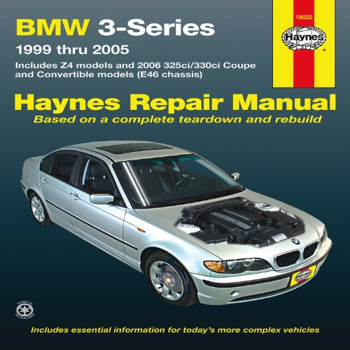 BMW 3-Series Automotive Repair Manual: 99-05 (Haynes Automotive Repair Manuals)