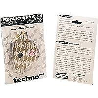 Respro Techno - Juego de 2 filtros de repuesto para máscaras antipolución (talla M)