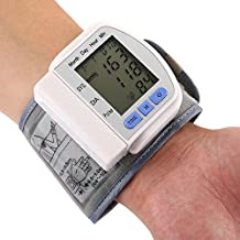 Monitor De Presión Arterial En La Muñeca - BP Completamente Automático Con Monitorización Irregular Del Ritmo