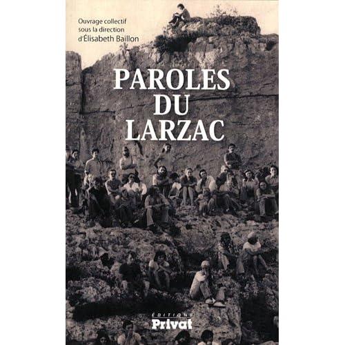 Paroles du Larzac