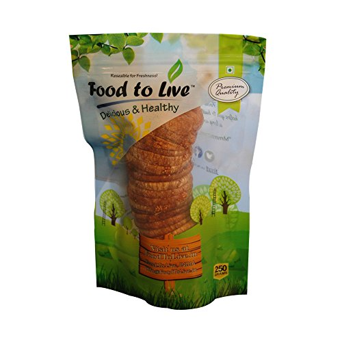 Food To Live Premium Dried Anjeer Figs 250 Grams  available at amazon for Rs.369