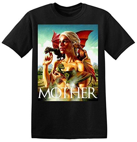 Daenerys-Targaryen-Khaleesi-MOTHER-of-Dragons-La-camiseta-de-los-hombres