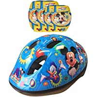Stamp Disney Mickey Mouse Knee Pads, Helmet and Elbow Pads