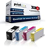 Print-Klex kompatible Patronen (mit Chip) für HP 364 XL Deskjet 3070a D5445 D5460 Officejet 4610 4620 4622 Photosmart 5510 5514 5515 6510 7510 e-All-in-One, Photosmart HP364