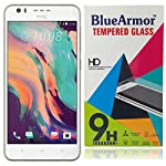 BlueArmor PREMIUM TEMPERED GLASS SCREEN PROTECTOR Made with transparent glass that has undergone specialized tempered-glass treatment, our premium glass screen protector is made to protect your phone's screen from scratches and other external damages...