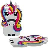 Huawei P8 Lite Hülle 3D Tier Hübsch Cartoon Pferd Regenbogen Gestalten Gute Qualität Weich Silikon Kunststoff Gel Stoßfest Schutzhülle Case für Huawei P8 Lite