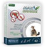 Max Biocide Halsband Gatto - Collare antiparassitario per gatti a base di diazinone