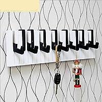 WESEASON Wall mounted floating coat racks piano music notes coat hooks for Home Office Hallway Waiting Room Living Room Bedroom retractable