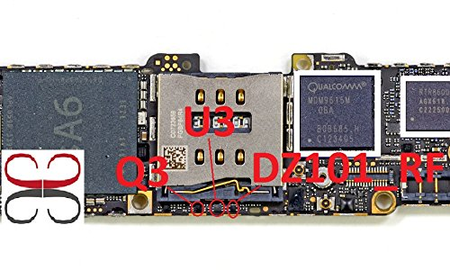 Q3 U3 dz101-rf IC Chip für Motherboard für iPhone 5 - 5 Motherboard Iphone